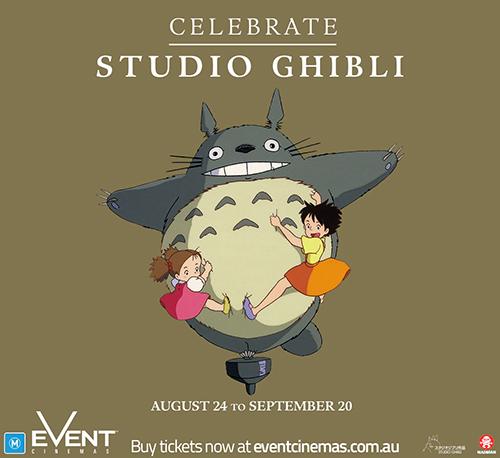 celebrate studio ghibli