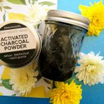 Spring Scented Charcoal Body Scrub Recipe