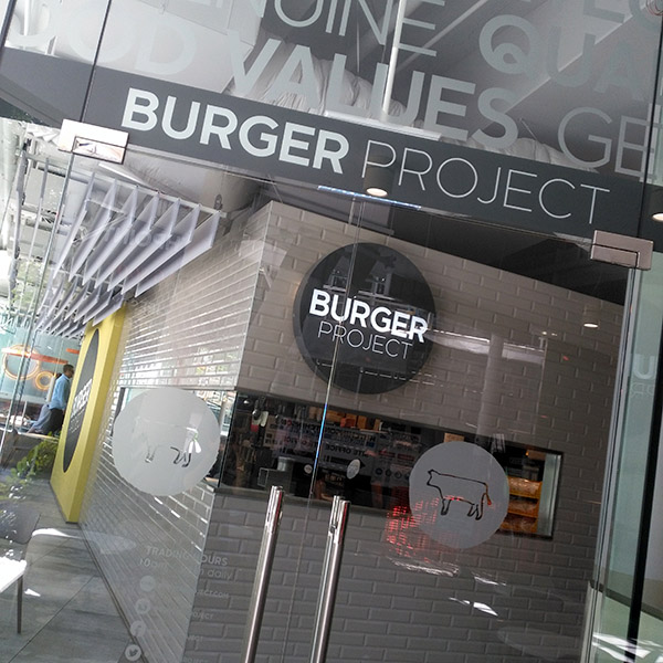 burger project shop front