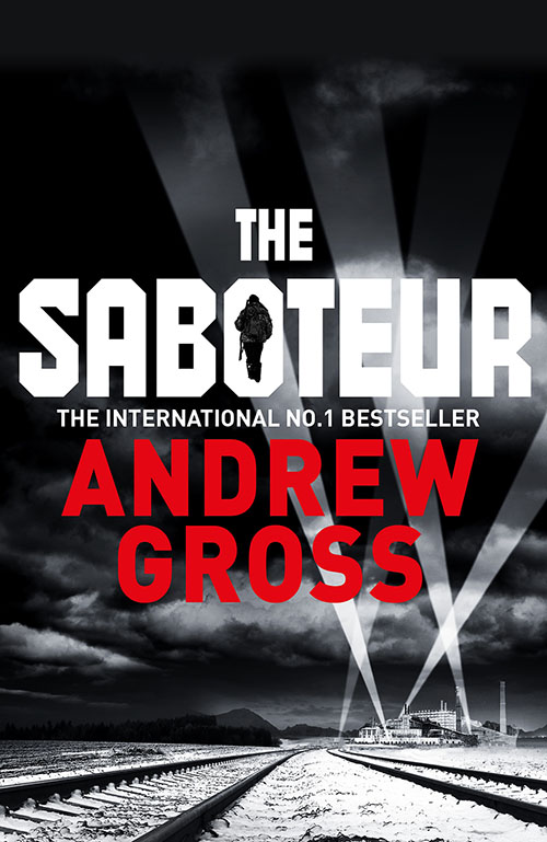 the saboteur andrew gross book cover