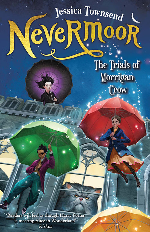 nevermoor jessica townsend book cover