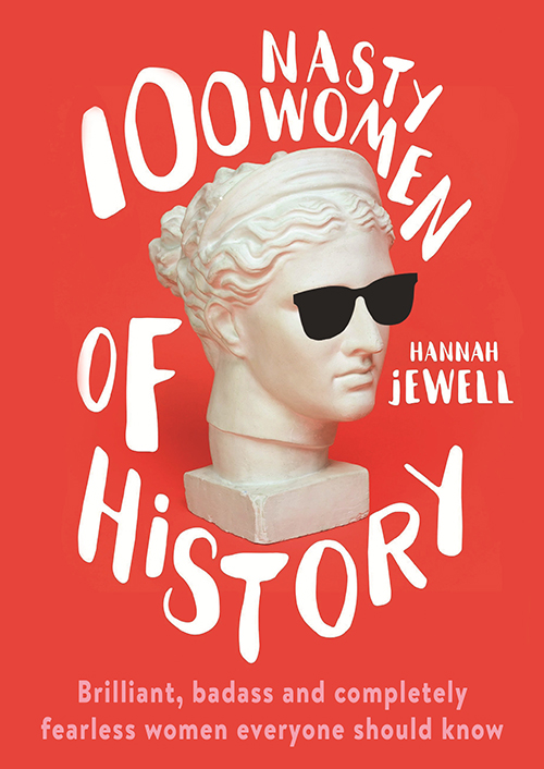 100 nasty women of history book cover