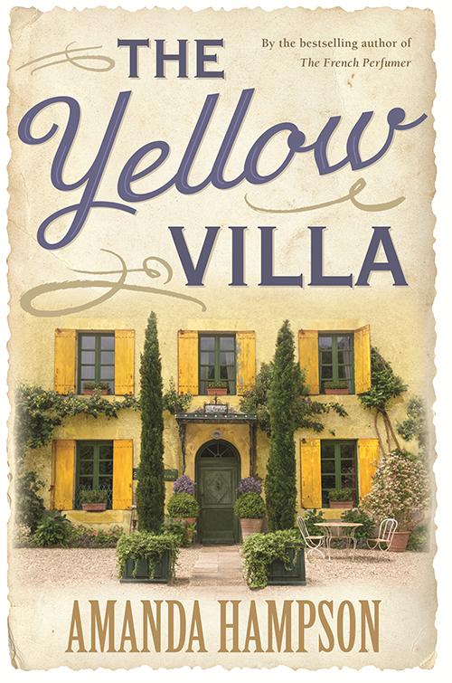 yellow villa book cover