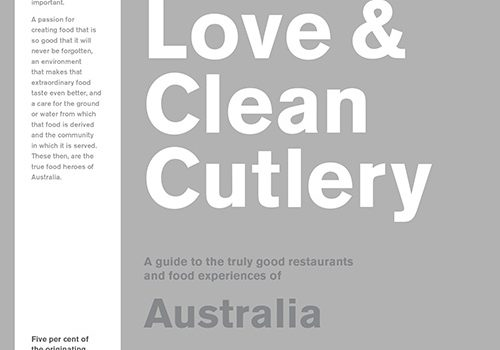 truth love clean cutlery