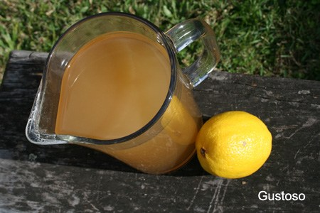 lemon barley water
