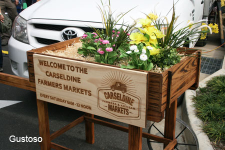 qut carseldine markets sign