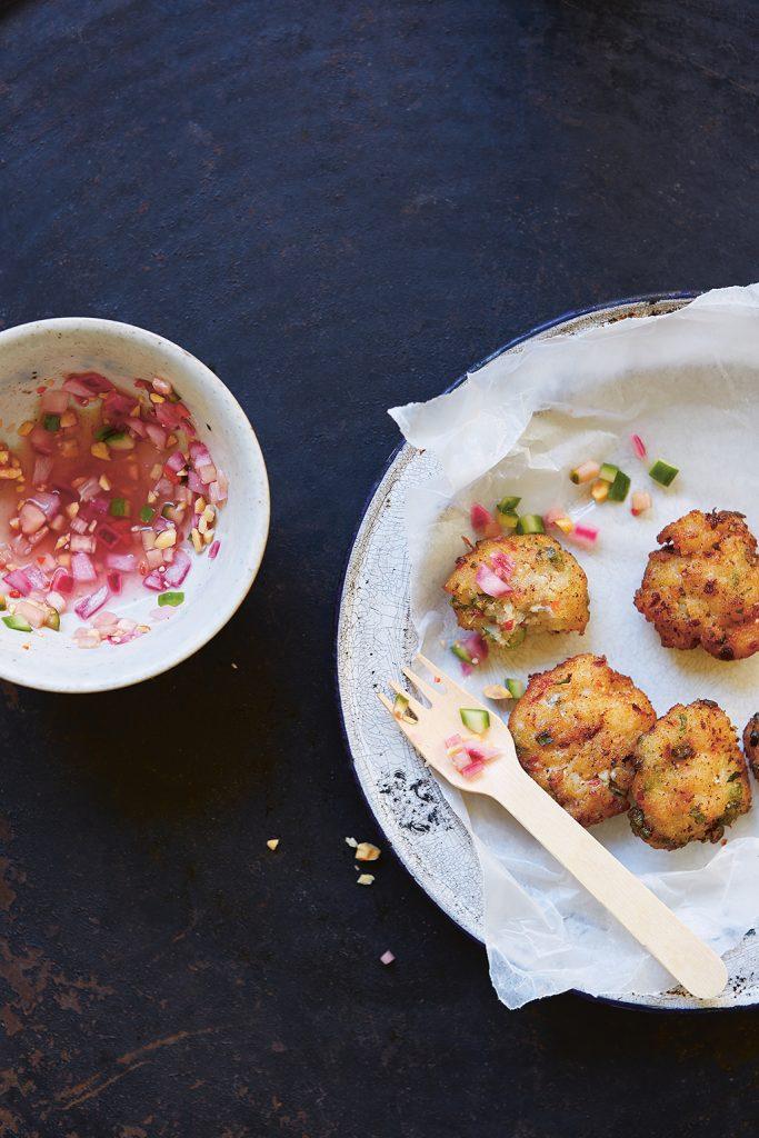 Thai Food Made Easy by Tom Kime - thai fish cakes