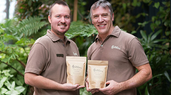 bean brewding coffee tours