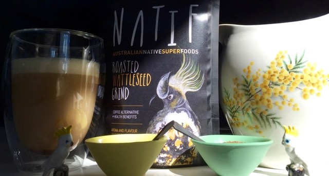 NATIF roasted wattleseed grind - wattle latte