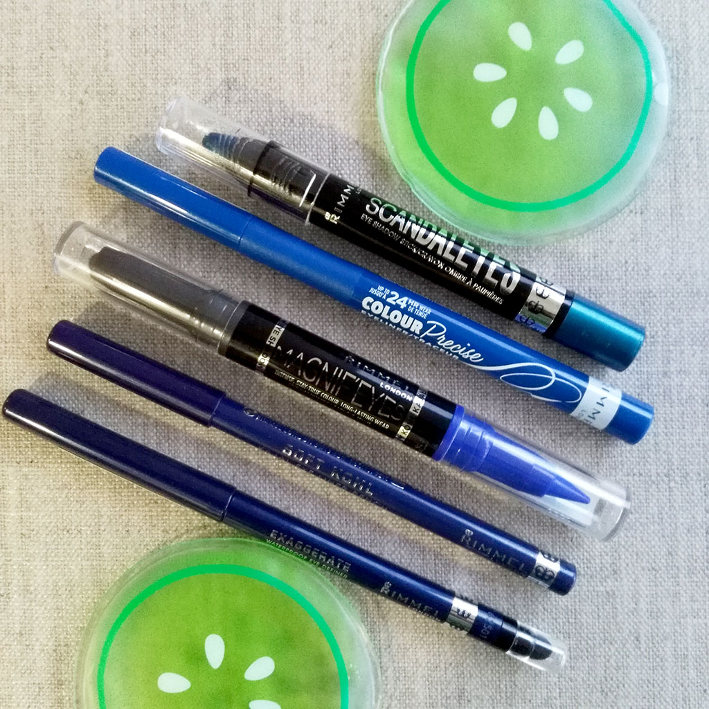 rimmel blue eye liner