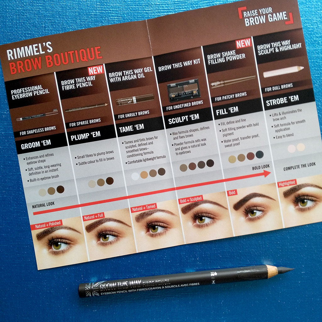 rimmel london brow this way