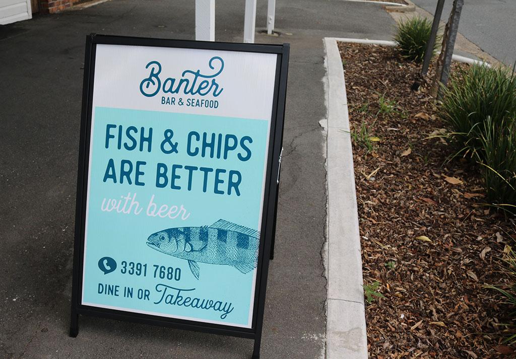 banter bar and seafood