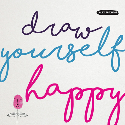 draw yourself happy book