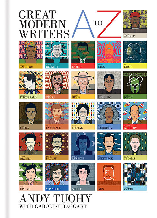 great modern writers book cover