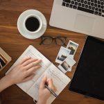 unsplash diary planner