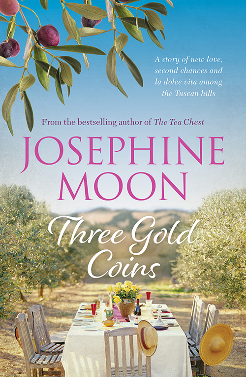 three gold coins book cover