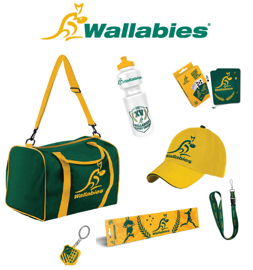 wallabies show bag