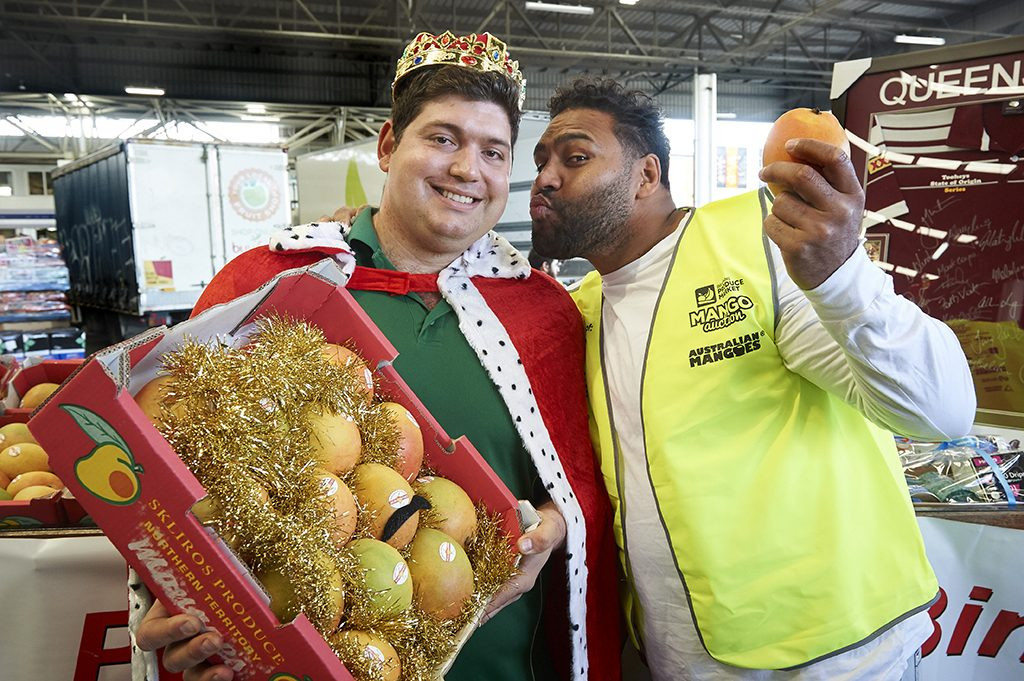 Brisbane Markets Mango Auction 2018