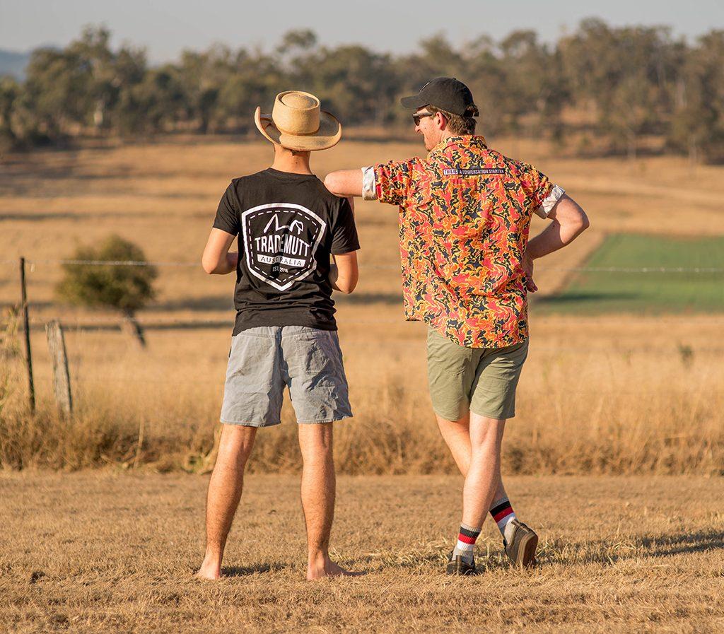 trade mutt founders work shirt