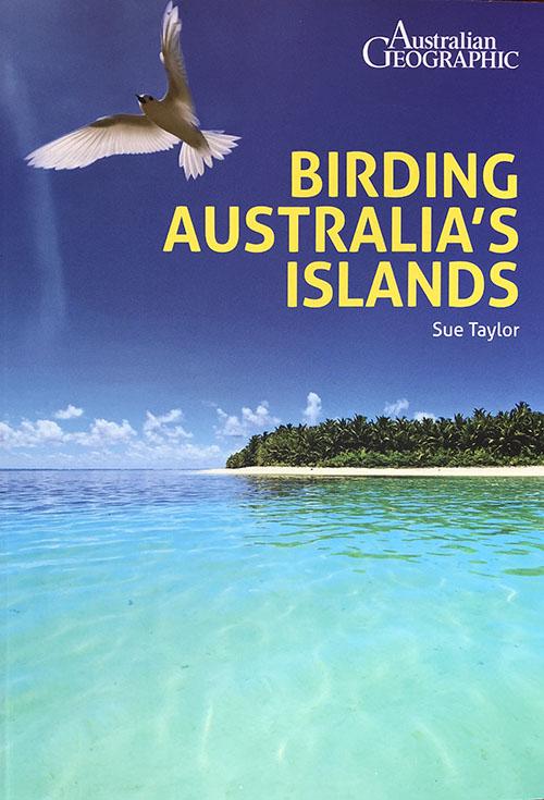 birding australia's islands book cover