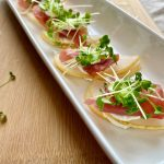 pear prosciutto appetisers
