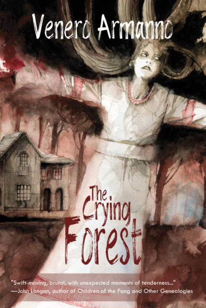 the crying forest book cover