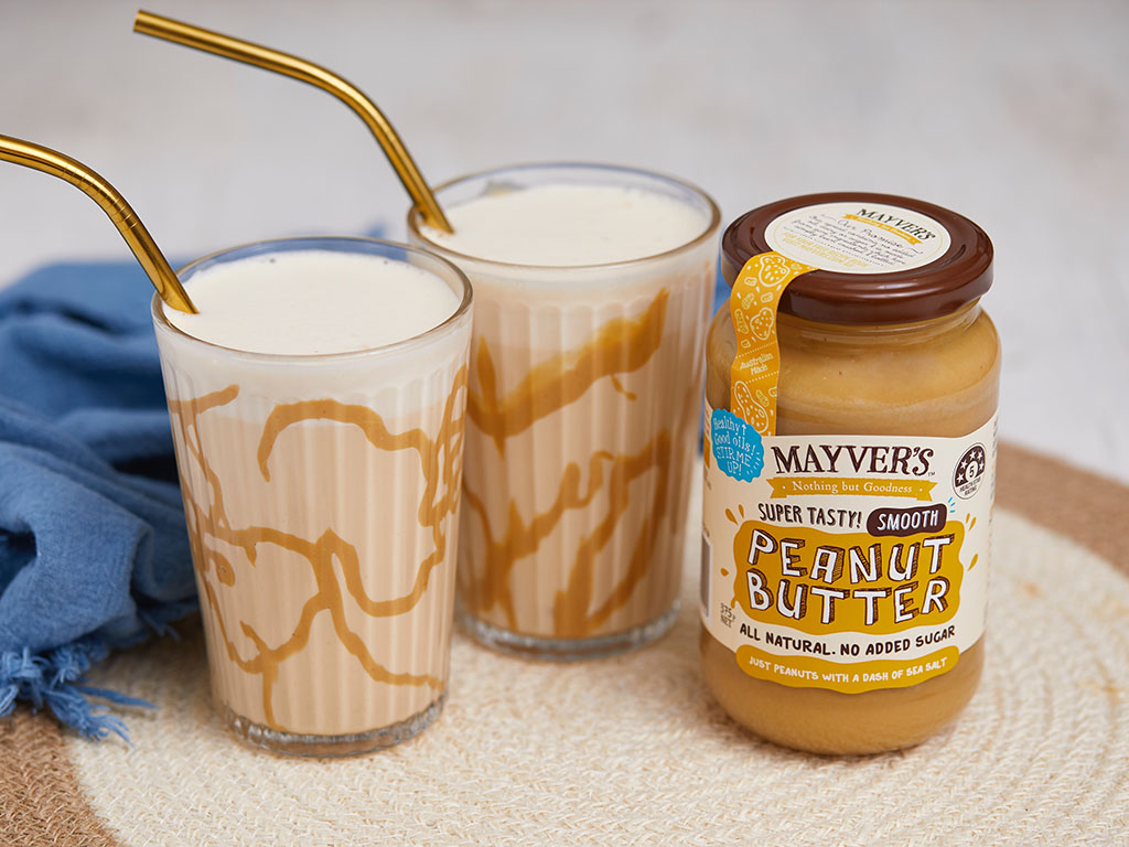 mayvers peanut butter smoothie